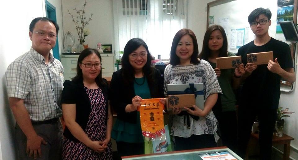 華梵赴香港聖公會蔡功譜中學升學講座